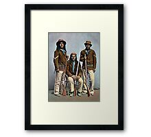 1900 US Army Apache Indian Scouts Framed Print