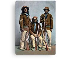1900 US Army Apache Indian Scouts Canvas Print