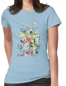 Modern Wall Art Womens Fitted T-Shirt