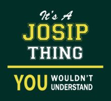 It's A JOSIP thing, you wouldn't understand !! by satro