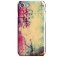 Grunge Rock N Roll Abstract Paint Texture iPhone Case/Skin