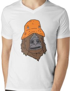 Sassy and the Orange Hat Mens V-Neck T-Shirt