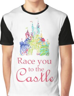 Race You to the Castle Graphic T-Shirt