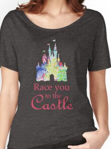 Race You to the Castle Women's Relaxed Fit T-Shirt
