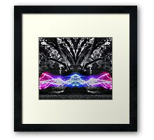 The Power of Nature HDR Framed Print