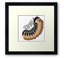 Filthy Insect Framed Print
