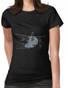 Caracal helicopter color Womens Fitted T-Shirt