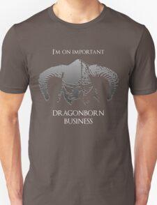 Skyrim | Dragonborn Business Unisex T-Shirt