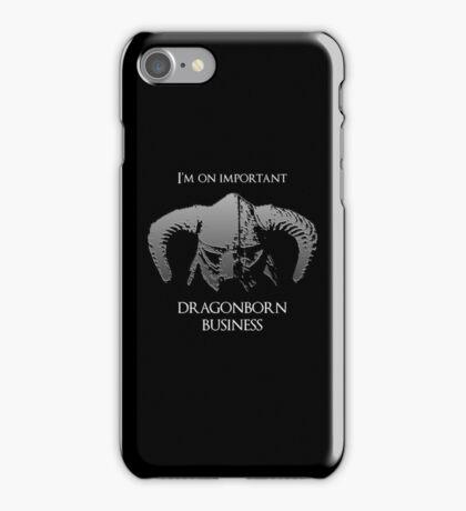 Skyrim | Dragonborn Business iPhone Case/Skin