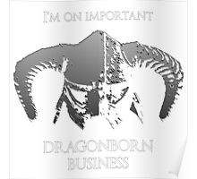 Skyrim | Dragonborn Business Poster