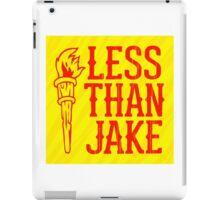 LESS THAN JAKE LOGO 1 iPad Case/Skin