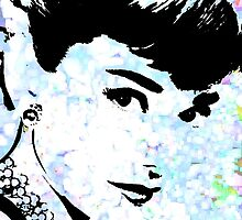 Audrey Simply Beautiful #2 by Saundra Myles