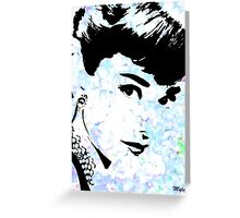 Audrey Simply Beautiful #2 Greeting Card