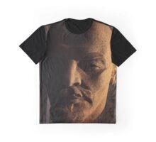 lenin, lenin head, monument Graphic T-Shirt