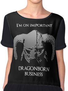 Skyrim   Dragonborn Business Chiffon Top
