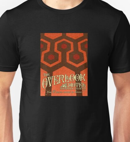 The Shining Overlook Hotel carpet Unisex T-Shirt
