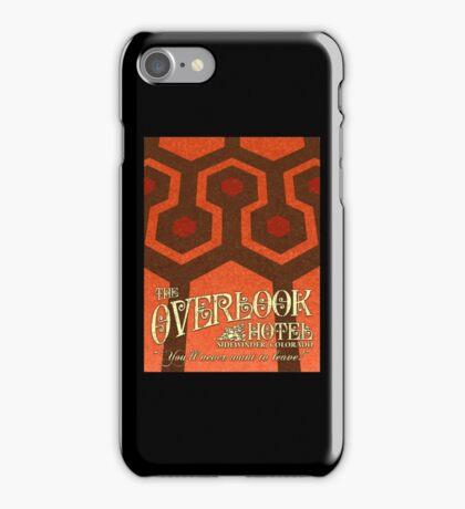 The Shining Overlook Hotel carpet iPhone Case/Skin