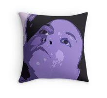The Blue Mistress Throw Pillow