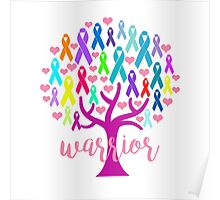Warrior Tree Poster