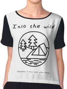 Into the wild Women's Chiffon Top