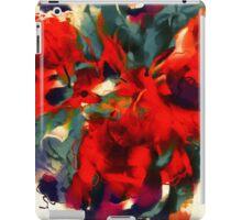 Red Flower Power iPad Case/Skin