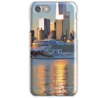 Cruise Ship Norwegian Gem On The Hudson River! iPhone Case/Skin