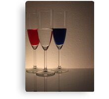 Coloured Glasses Canvas Print