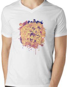 Secret Garden | Hydrangea Snowball Mens V-Neck T-Shirt