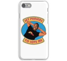 Set Phasers to Levar iPhone Case/Skin