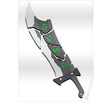 Riven's Sword - League of Legends Poster