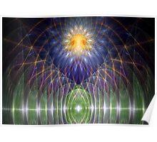 Alien altar Poster