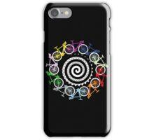 Bike hypnotic iPhone Case/Skin