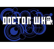 Doctor Who Gallifreyan Photographic Print