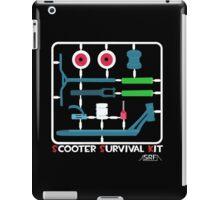 Scooter survival kit iPad Case/Skin