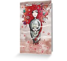Girl Quirky—Soul Dreamer Greeting Card