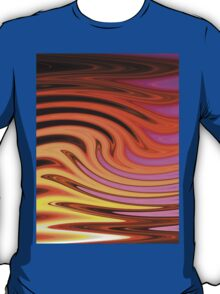 Flame and Fire Vector - Colorful Background T-Shirt