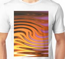 Flame and Fire Vector - Colorful Background Unisex T-Shirt