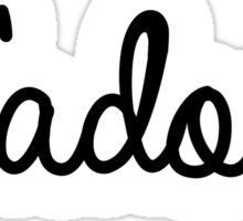 J'adore | French Sticker