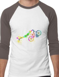 Festive bike Men's Baseball ¾ T-Shirt