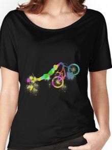 Festive bike Women's Relaxed Fit T-Shirt