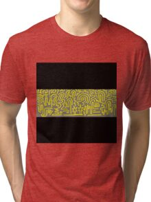 Clean Stripe (Warning) Tri-blend T-Shirt
