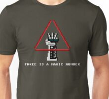 Three Is A Magic Number Unisex T-Shirt