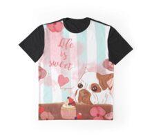 Life is sweet - Zuckersüßes Küchenmotiv Graphic T-Shirt