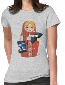 Katya Zamolodchikova Russian Doll Womens Fitted T-Shirt