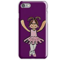 Tina Ballerina iPhone Case/Skin