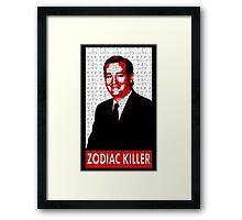 Ted Cruz the Zodiac Killer Framed Print