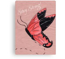 Resilient Wings Canvas Print