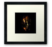 barbarian souls dark knight  Framed Print