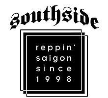 southside saigon vietnam represent Photographic Print