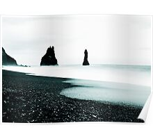 Vik Beach from Iceland Poster
